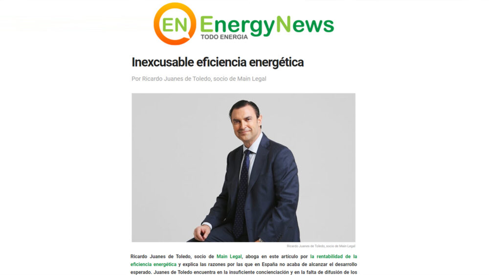 Energy News – Inexcusable Eficiencia Energética