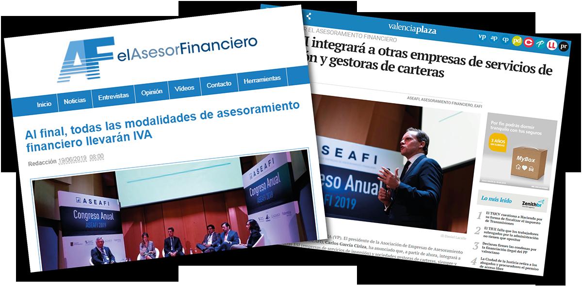 Valencia Plaza Y El Asesor Financiero – Jornada ASEAFI